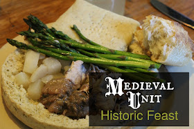 Medieval-Unit-Historic-Feast-With-Recipes-and-book-titles