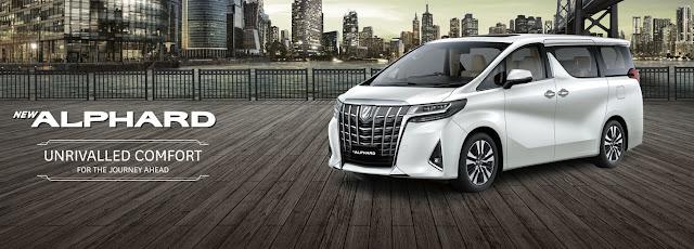 Toyota Alphard Mobil MPV Luxury – Harga Alphard Jakarta