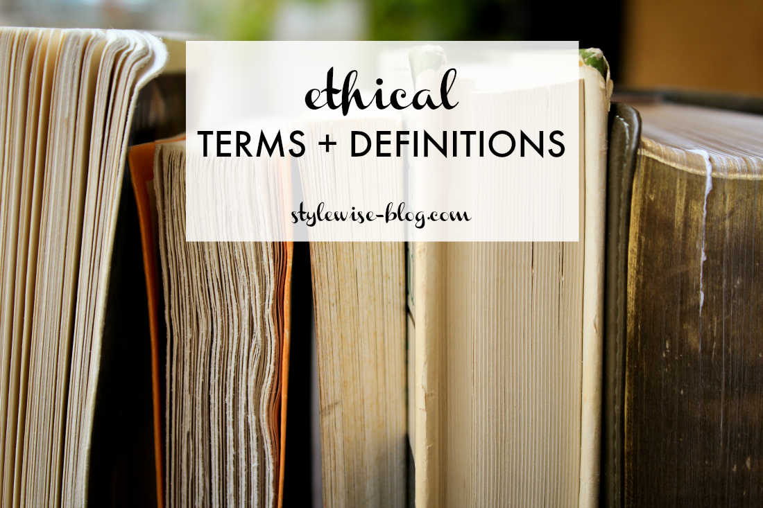 ethical terms and definitions