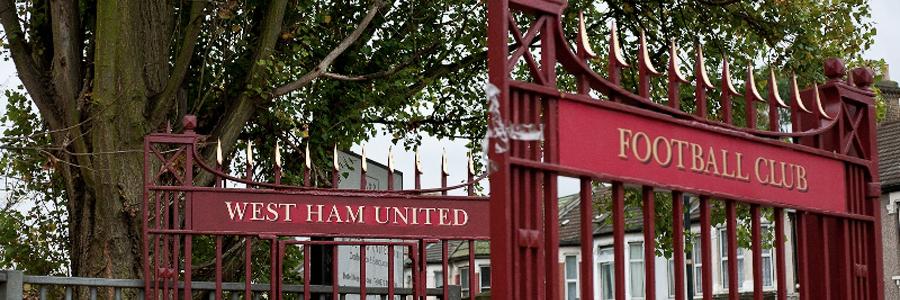 Boleyn Ground cancello ingresso
