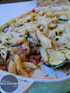 Creamy Zucchini Parmesan Pasta