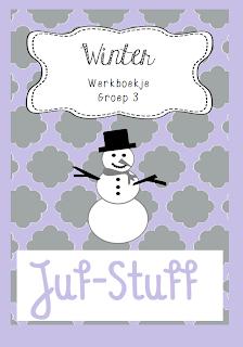 Wonderbaar Juf-Stuff: Time flies; winterwerkboekje groep 3 OQ-08