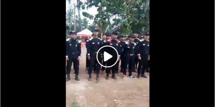 Heboh! Video Pasukan Mujahidin Indonesia Berangkat Jihad ke Rohingya