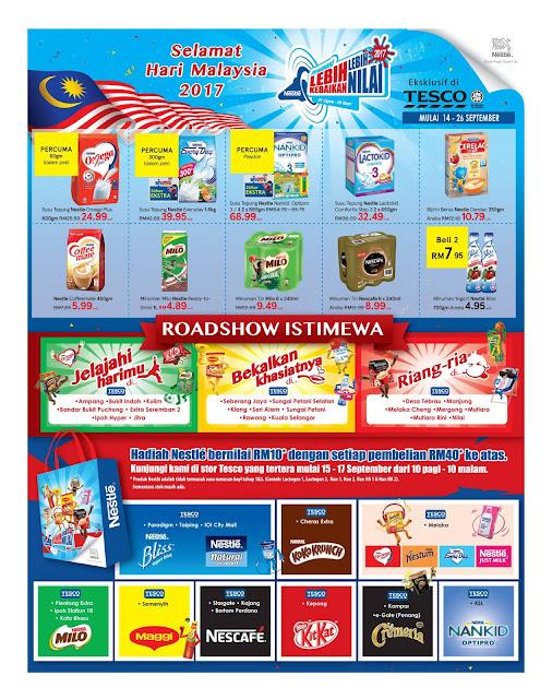 Hari Malaysia Tesco Promo Catalogue