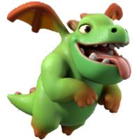Informasi Baby Dragon di COC