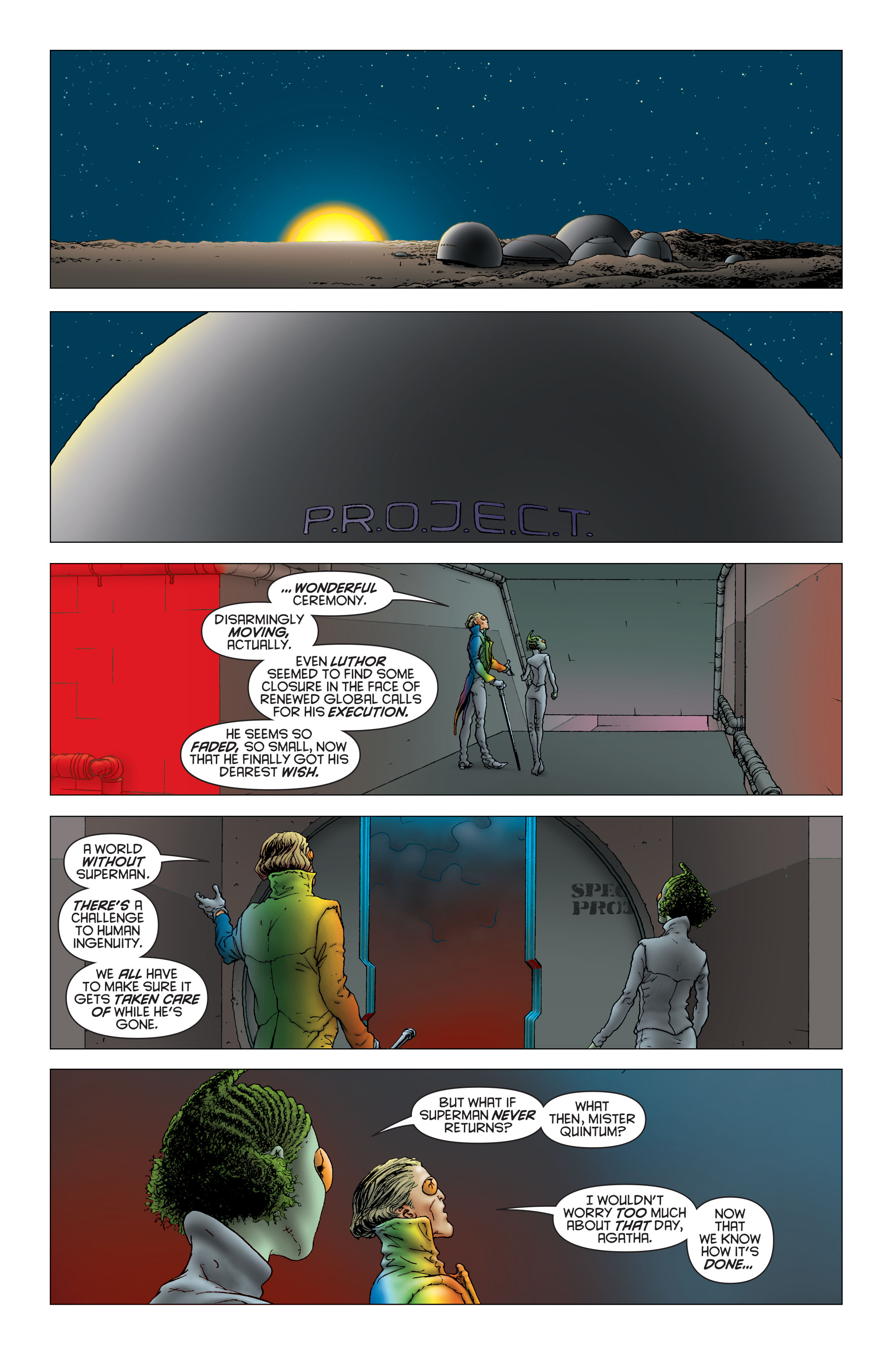 Read online All Star Superman comic -  Issue #12 - 22