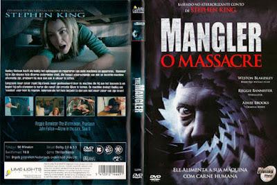 Filme Mangler - O Massacre (The Mangler Reborn) DVD Capa