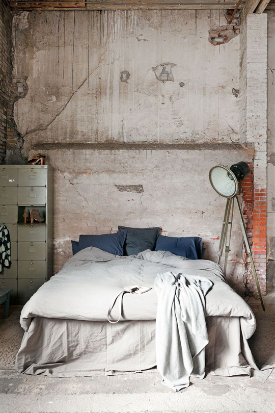 how to style bare plaster walls