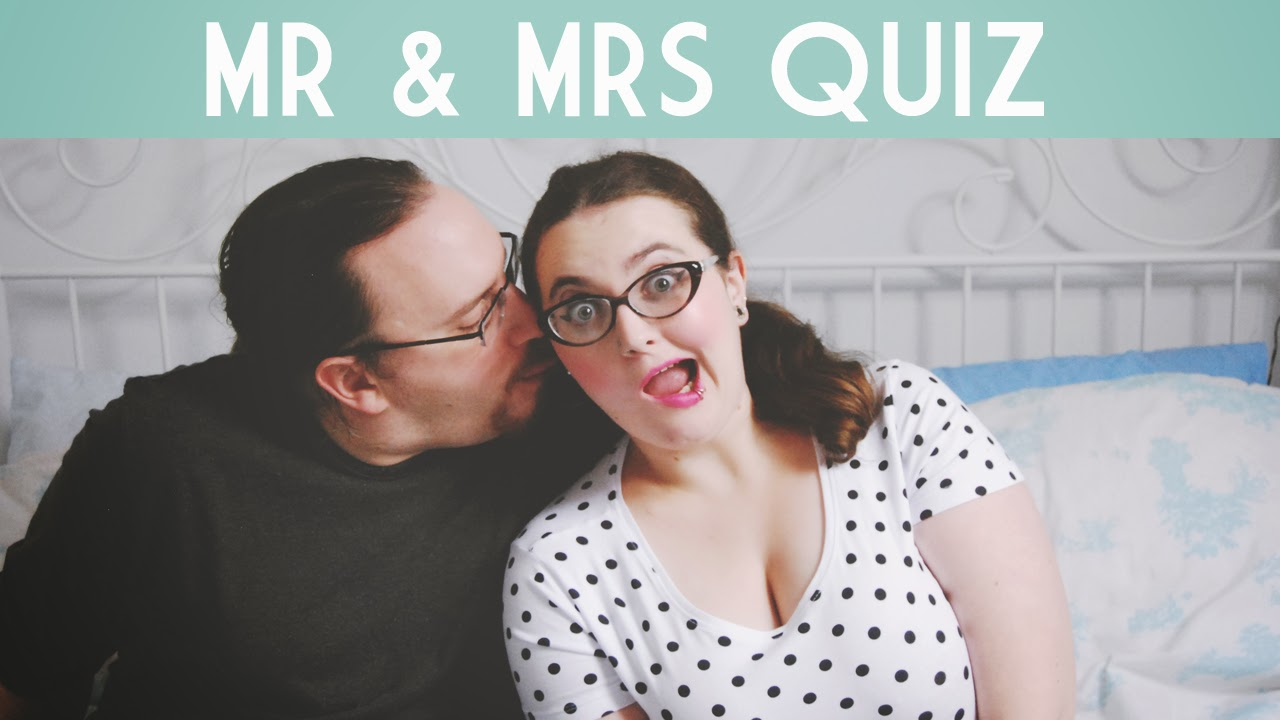 Becky Bedbug: Mr And Mrs Quiz