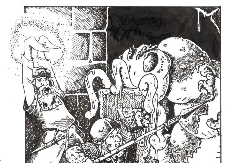 Daddy Grognard An Adventure For Every Monster Carrion Crawler