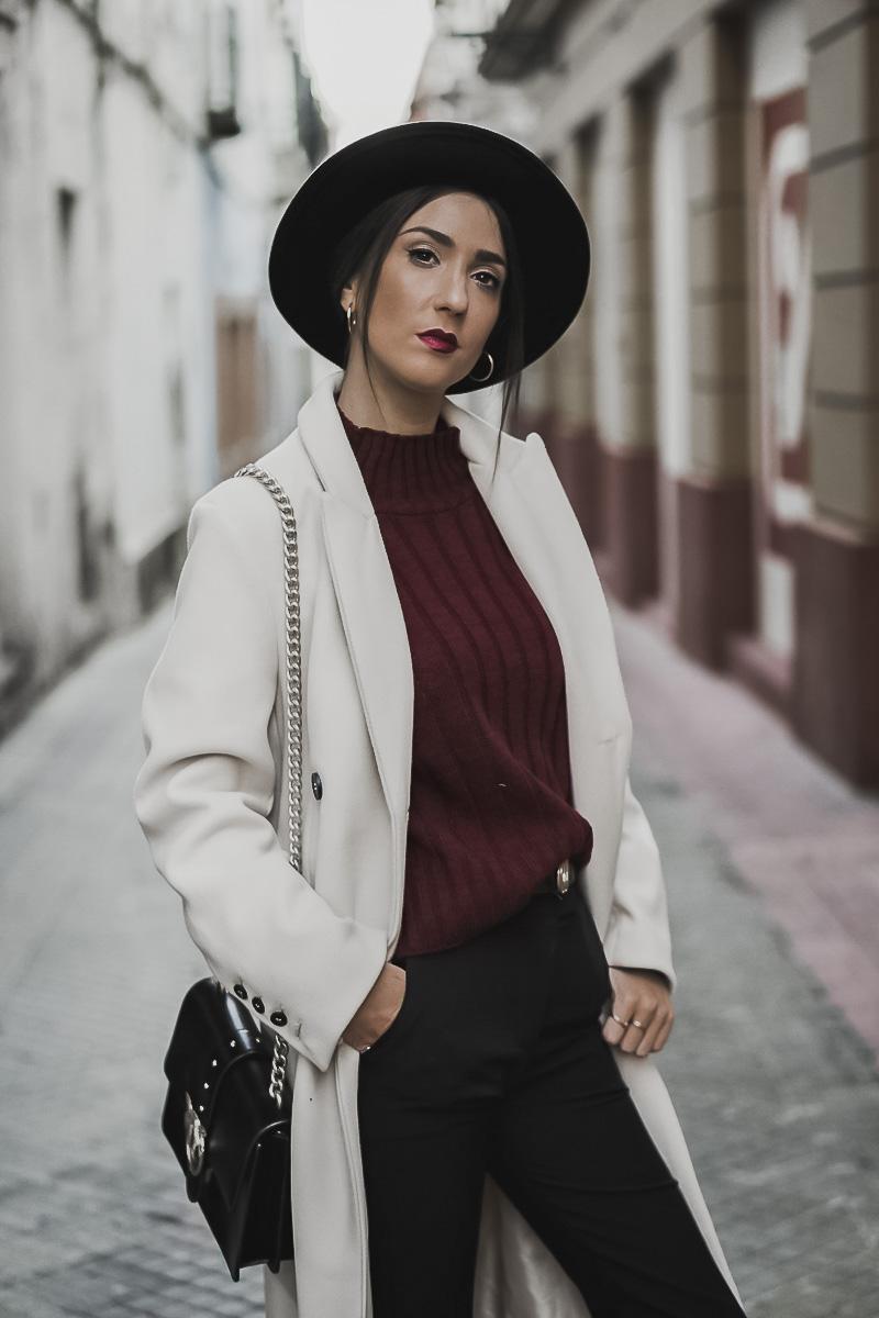 white coat - ABRIGO BLANCO PINKO BOLSOS