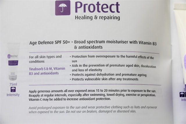 Institut broad spectrum spf50 sunscreen review
