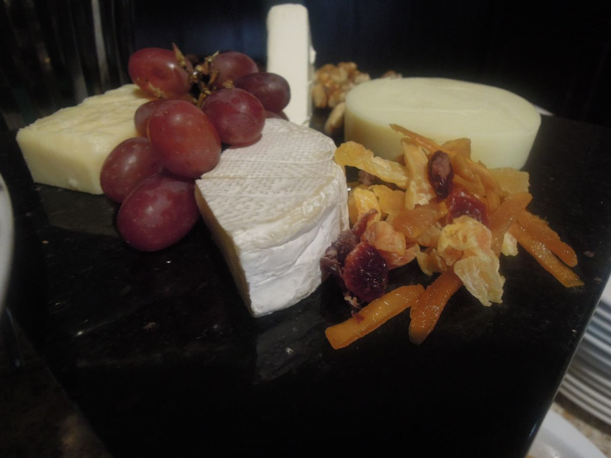 Cheese station at Spice Market's breakfast buffet in Misibis Bay