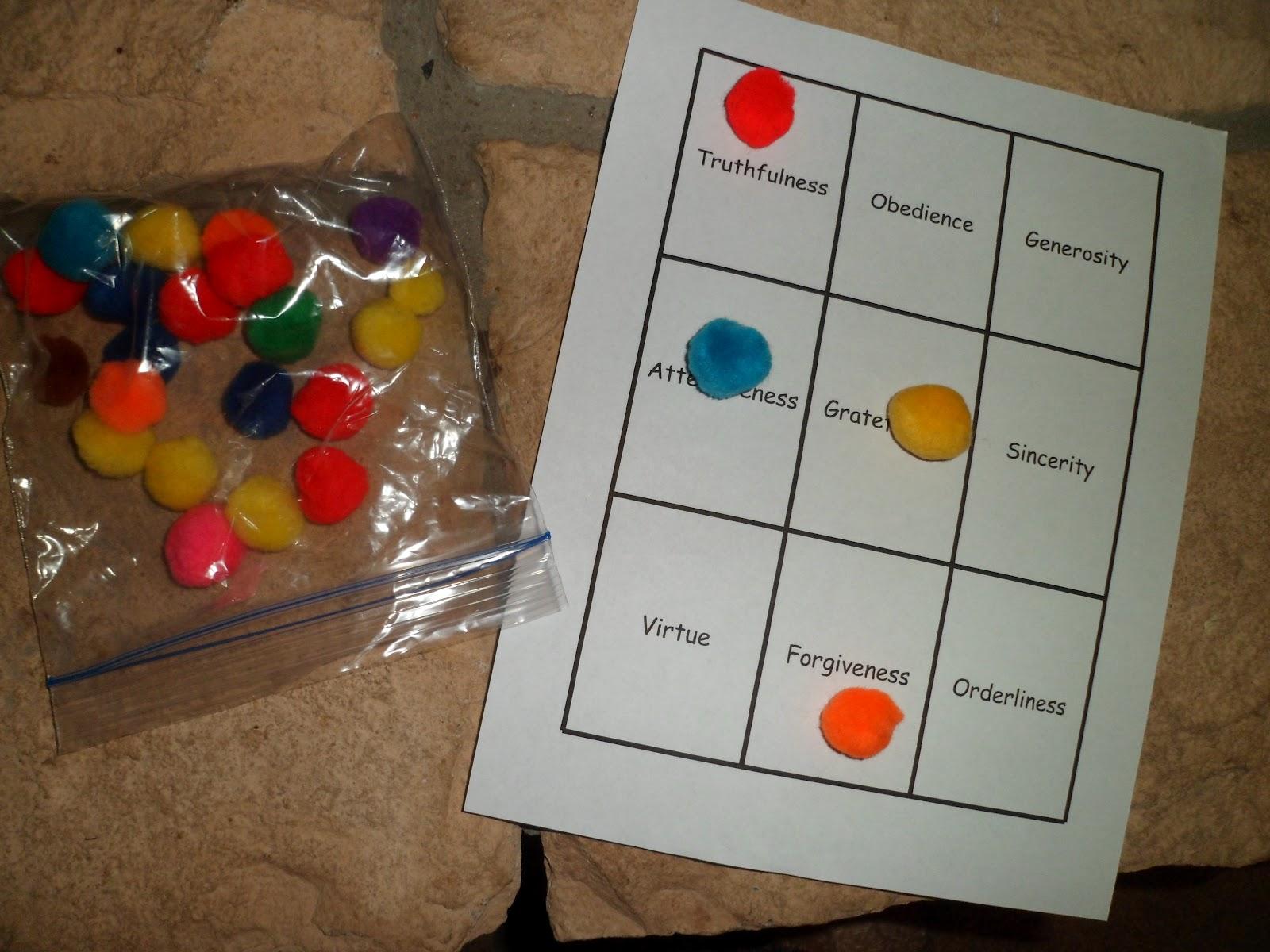 Happy Homeschool Character Traits
