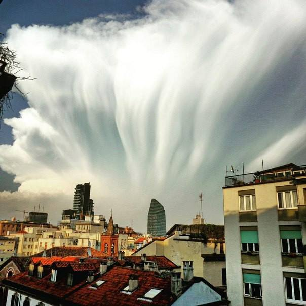 Amazing, thunderstorm, Clouds, clouds formation, Storm, Weather phenomena,