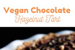 Best Vegan Chocolate-Hazelnut Tart