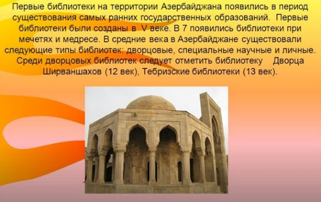 библиотеки Азербайджана