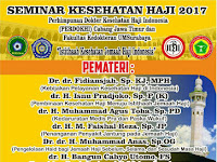 Seminar Kesehatan Haji Mei 2017 Surabaya : Istithaah Kesehatan Jemaah Haji Indonesia
