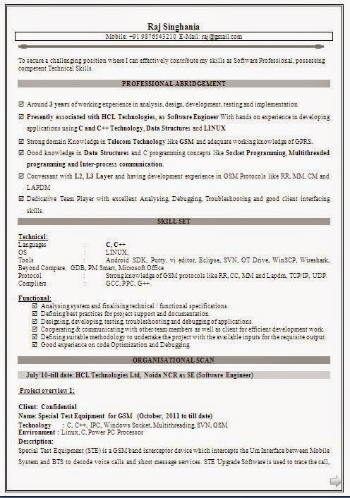 Sample Resume Format I Hereby Certify How To Write A Cover Letter
