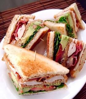 Crown Recipes California Club Sandwich Recipe
