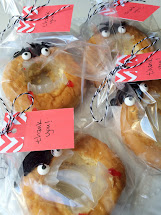 Aly Dosdall Donut Vampire Party Favors
