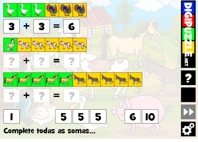 http://www.digipuzzle.net/kids/cartoons/puzzles/findsum_farm_animals.htm?language=portuguese&linkback=../../../pt/jogoseducativos/matematica-ate-10/index.htm