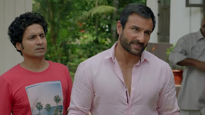 Saif Ali Khan And Chandan Roy Sanyal HD Wallpaper In Chef