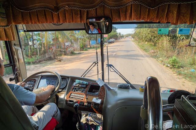 trajet Siem Reap Battambang - Cambodge