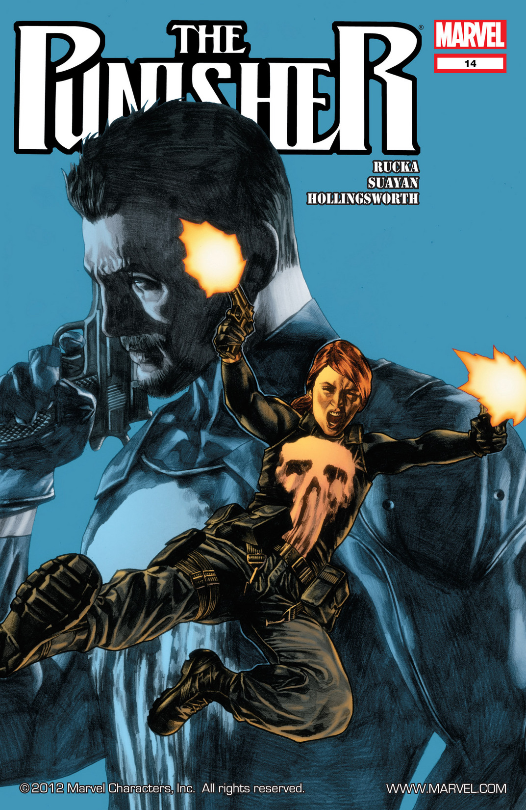 The Punisher (2011) 14 Page 1