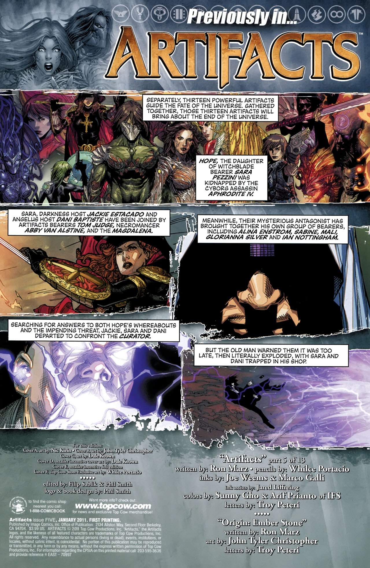 Read online Artifacts comic -  Issue #5 - 5