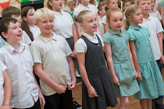 Children from Bude Park Primary School performing at their 2015 End of Year Concert Photos Credit: Darren Casey