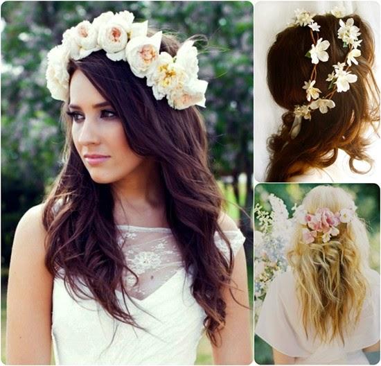 Cool Wedding Hairstyle Flower Fresh Flowers Hairstyles For Men Maxibearus