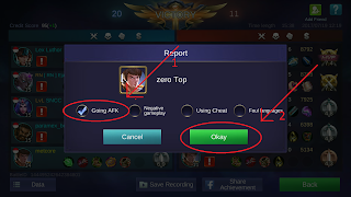 pilih jenis report mobile legends