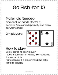 This freebie only requires a simple deck of playing cards!
