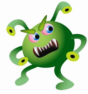 Virus nakal pada komputer