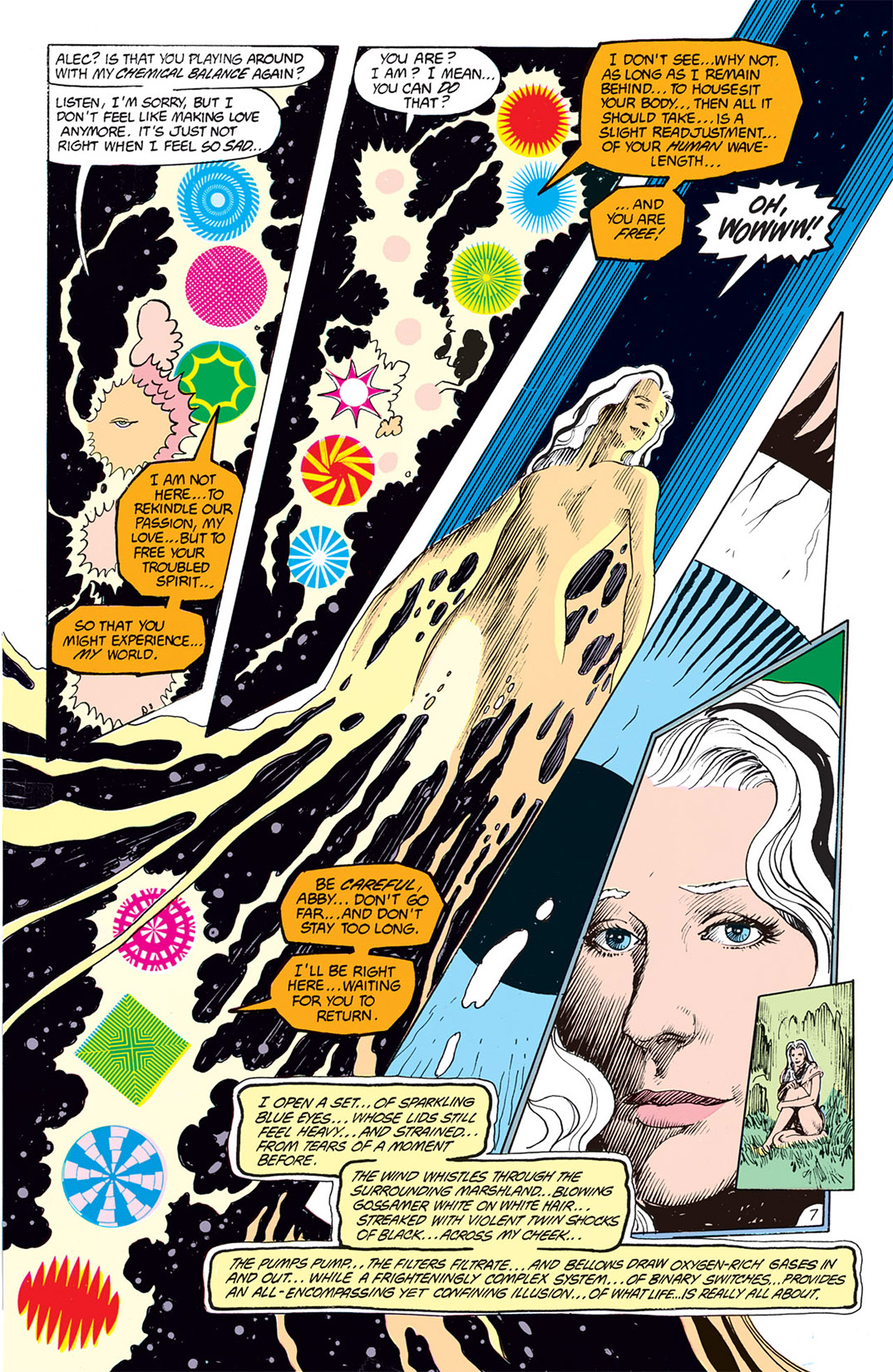 Swamp Thing (1982) Issue #66 #74 - English 7