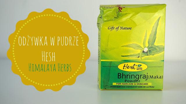RECENZJA: Brahami Powder - odżywka w pudrze Hesh | Himalaya Herbs