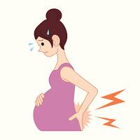 sakit belakang ketika mengandung