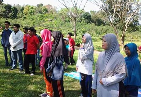 Outbond putra-putri Muhammadiyah di Gumitir