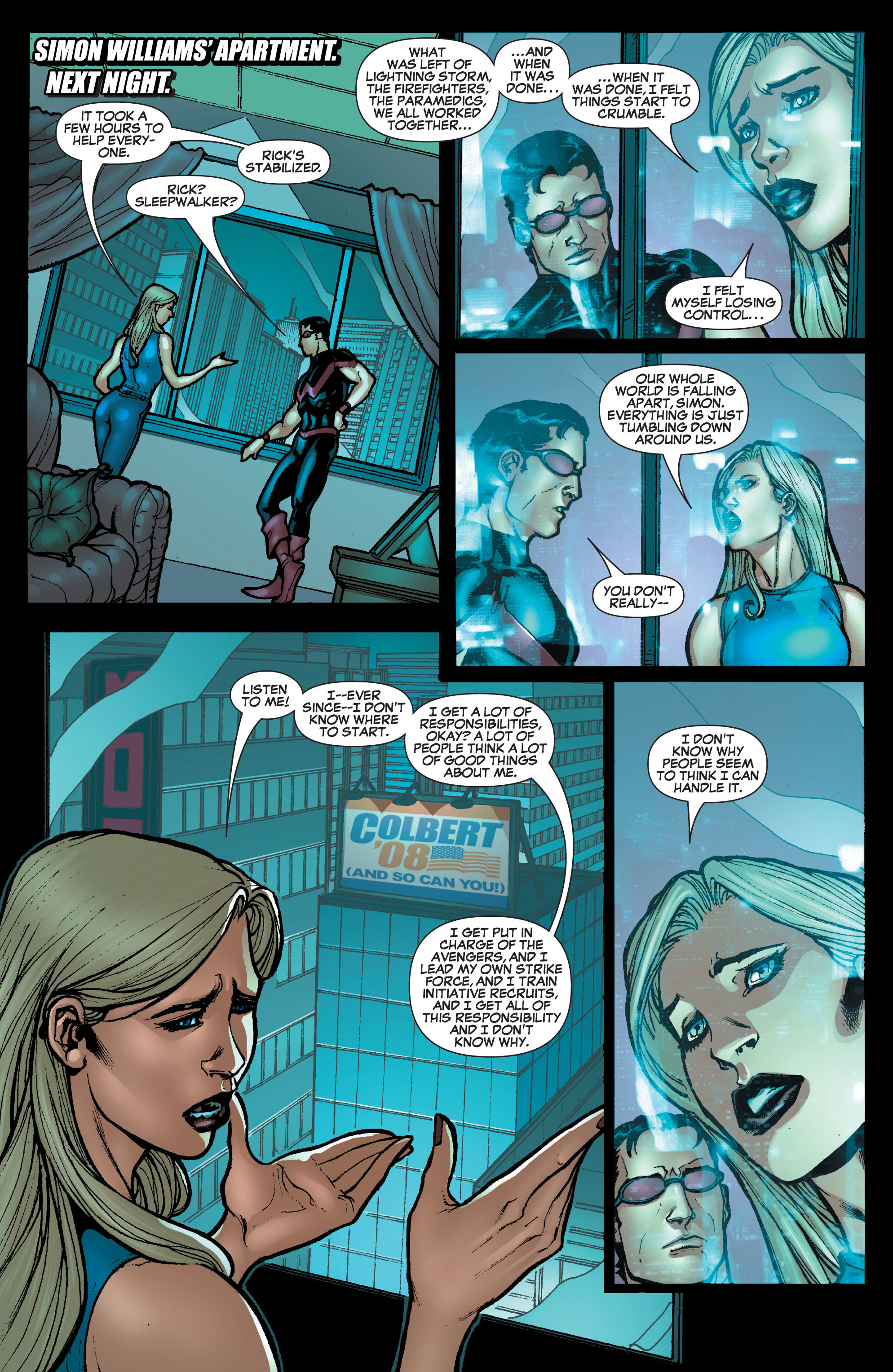 Read online Secret Invasion: The Infiltration comic -  Issue #10 - 18