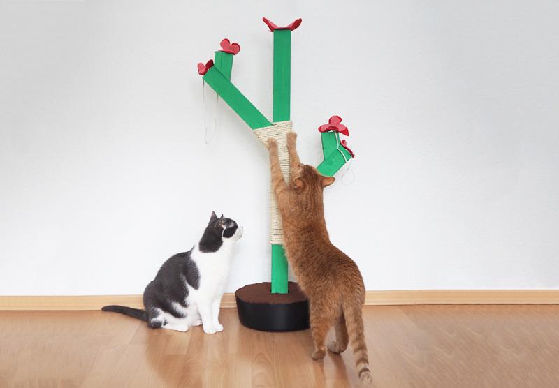 DIY für einen selbstgebauten Kratzbaum