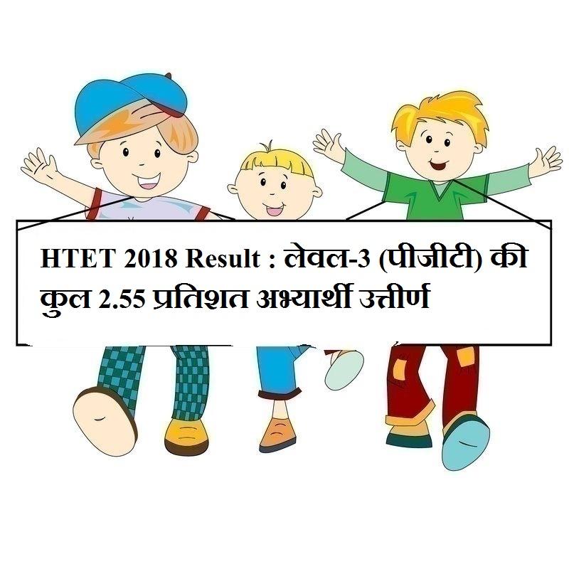 HTET 2018 Result : आकड़ों की जुबानी