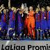 """Barcelona é o campeão de La Liga """"Promises"""" 2016"""