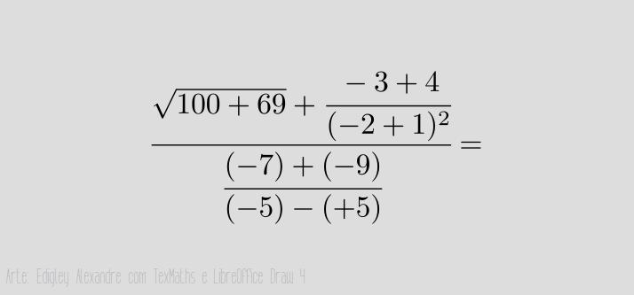 Escrita matemática adequada