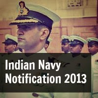 Indian Navy Logistic, Education and ATC Branch Notification Dec 2013