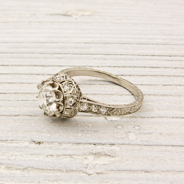 Erstwhile Jewelry Antique Engagement Ring 6240 - {Frosted Find}  Erstwhile Jewelry