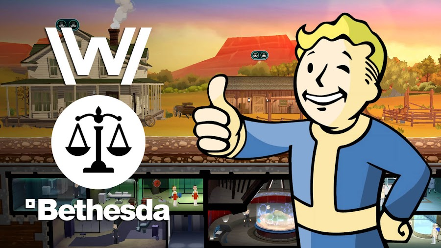 bethesda lawsuit settlement behaviour fallout shelter westworld