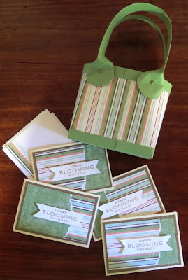 Gift bags and cards for raffle Zena Kennedy independent stampin up demonstrator