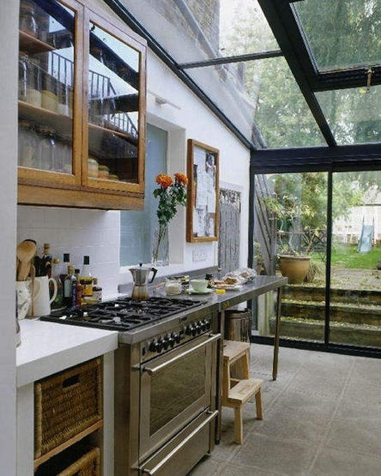 25 Captivating Ideas For Kitchens With Skylights: ClothesPeggS: Skylights, Exposed Beams And A Feeling Of Space