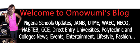 Welcome to Omowumi's Blog